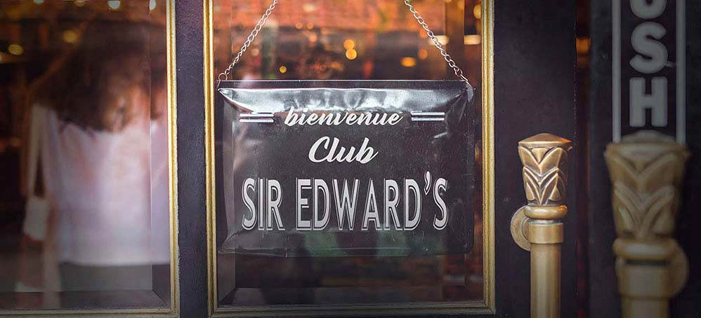 Le club Sir Edward's