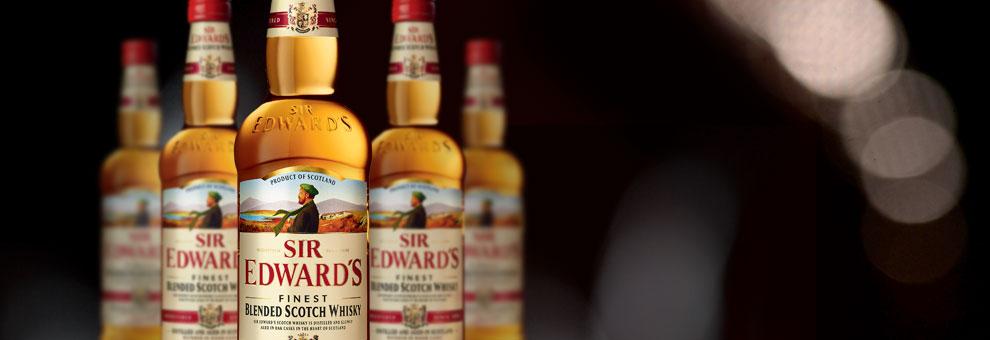 La gamme de whisky écossais Sir Edward's