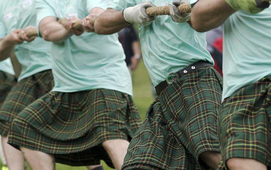 La saison des jeux des Highlands