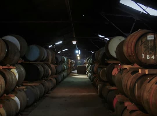 L'élaboration du whisky Sir Edward's