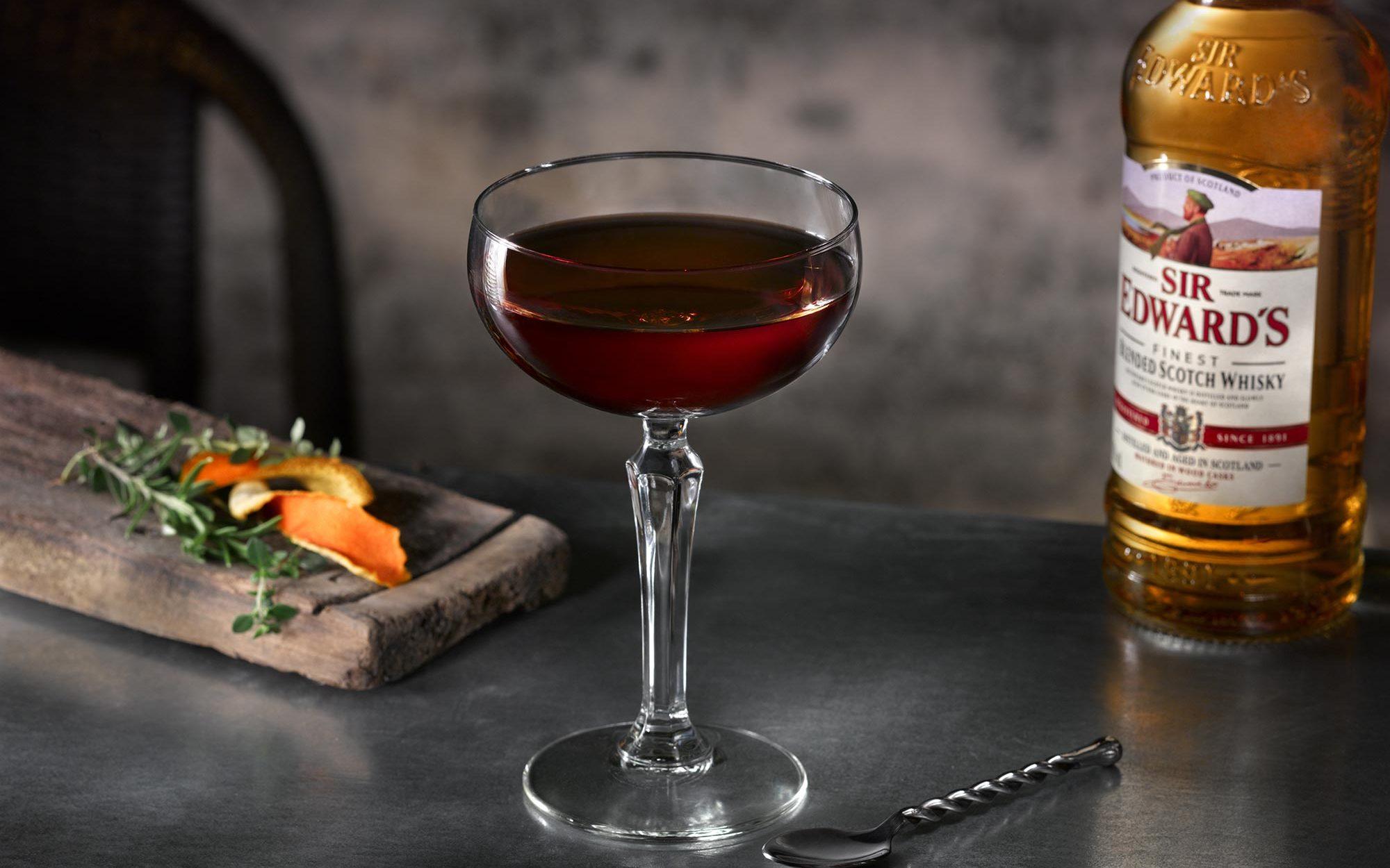 Sir Edwards Rob Boy Cocktail