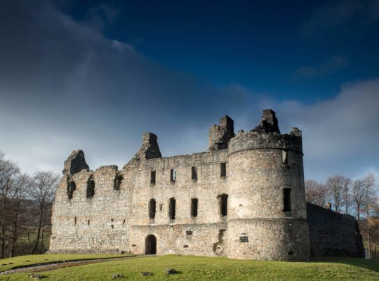 Le château de Balvenie, la beauté cachée