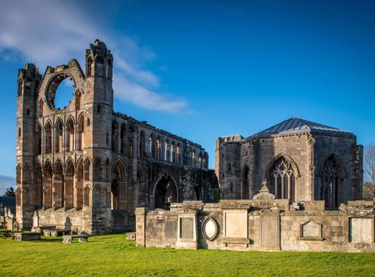 Elgin, les ruines somptueuses de la cathédrale
