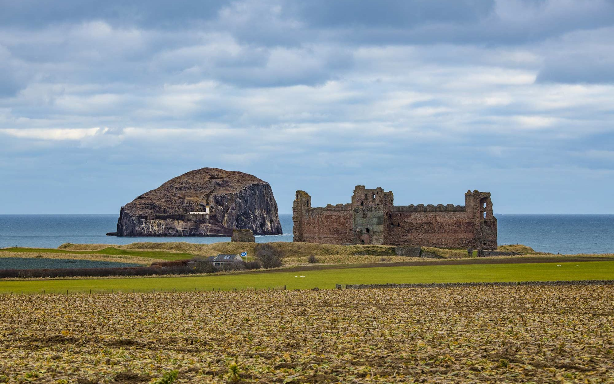 chateau tantallon ecosse roadtrip sir edwards