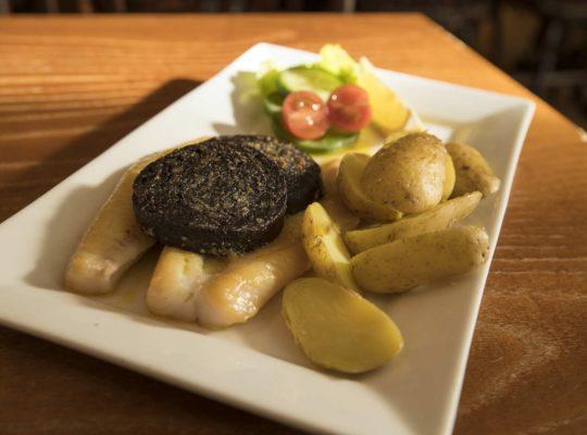 Haddock et black pudding, deux spécialités d'Écosse