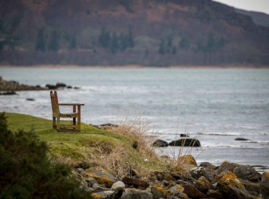En attendant les phoques du Loch Fleet