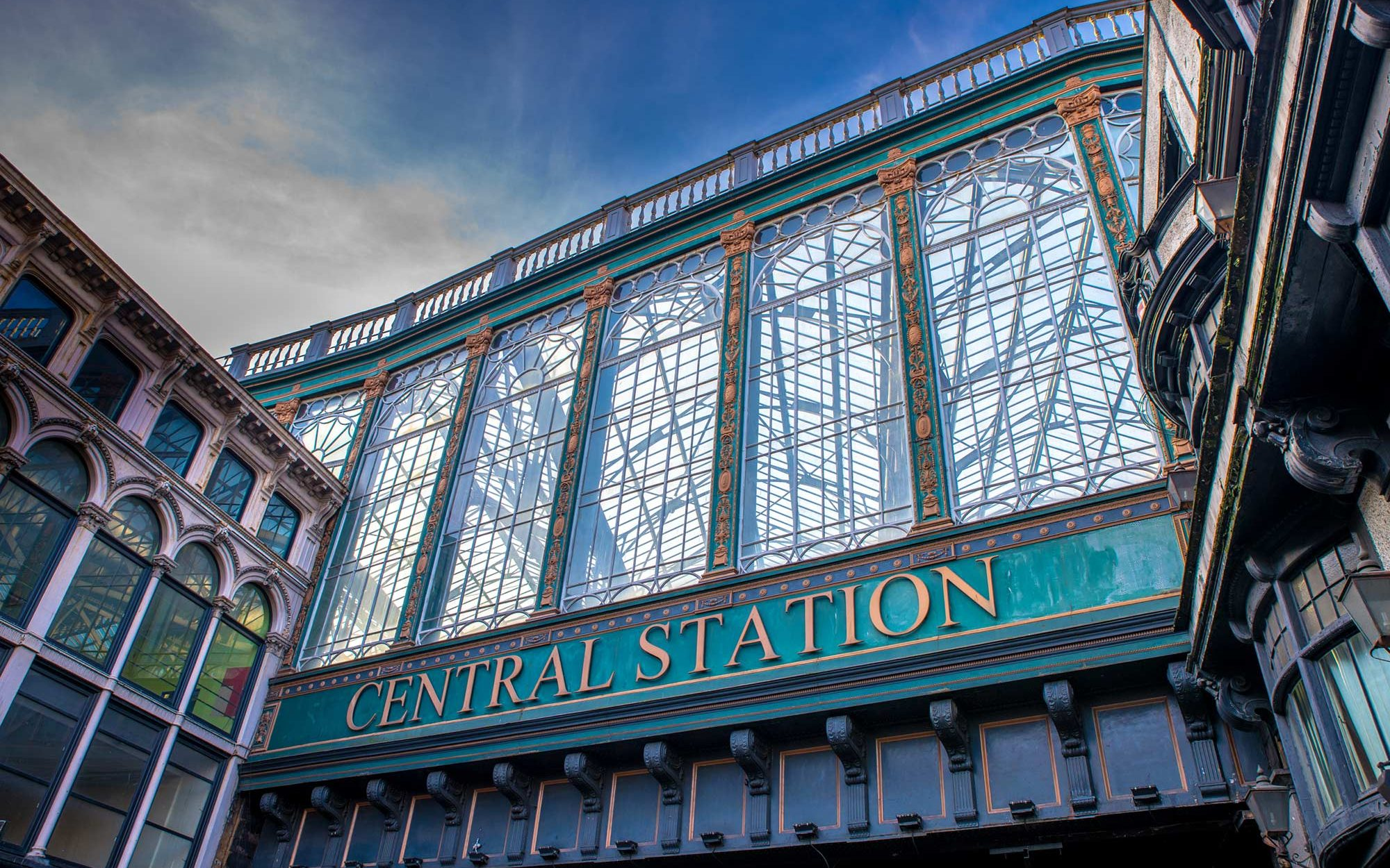 Gare Centrale Glasgow Ecosse roadtrip Siredwards
