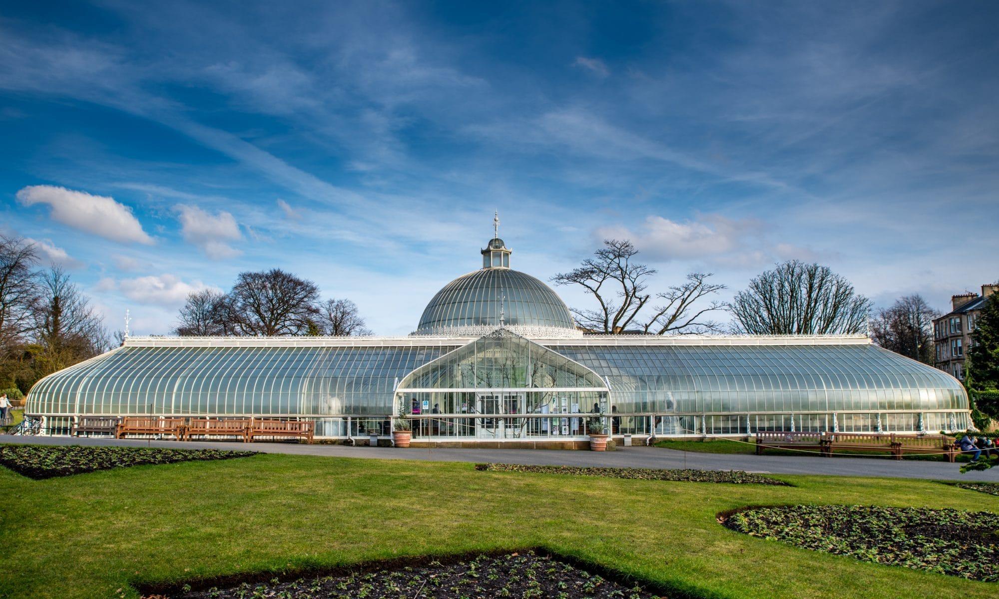 Jardin Botanique Glasgow Ecosse roadtrip Siredwards