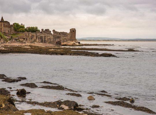 Les ruines tragiques de St Andrews