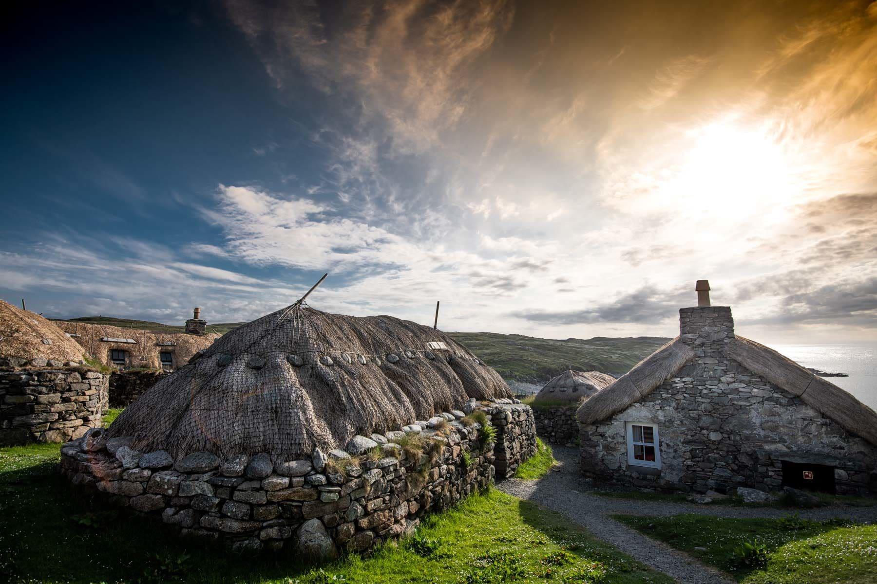 Black houses de l'île de Lewis