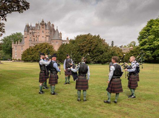 Highland Games au château de Glamis