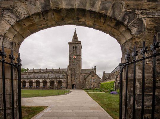 St Andrews, sur les pas de Kate et William !