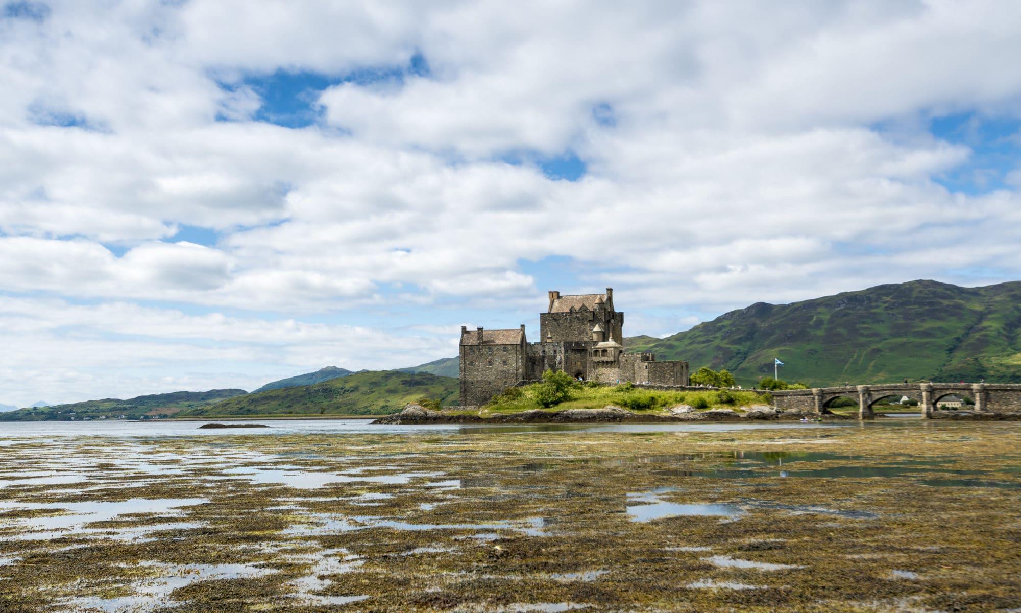 Uen visite à Eilean Donan Castle Roadtrip Sir Edward's
