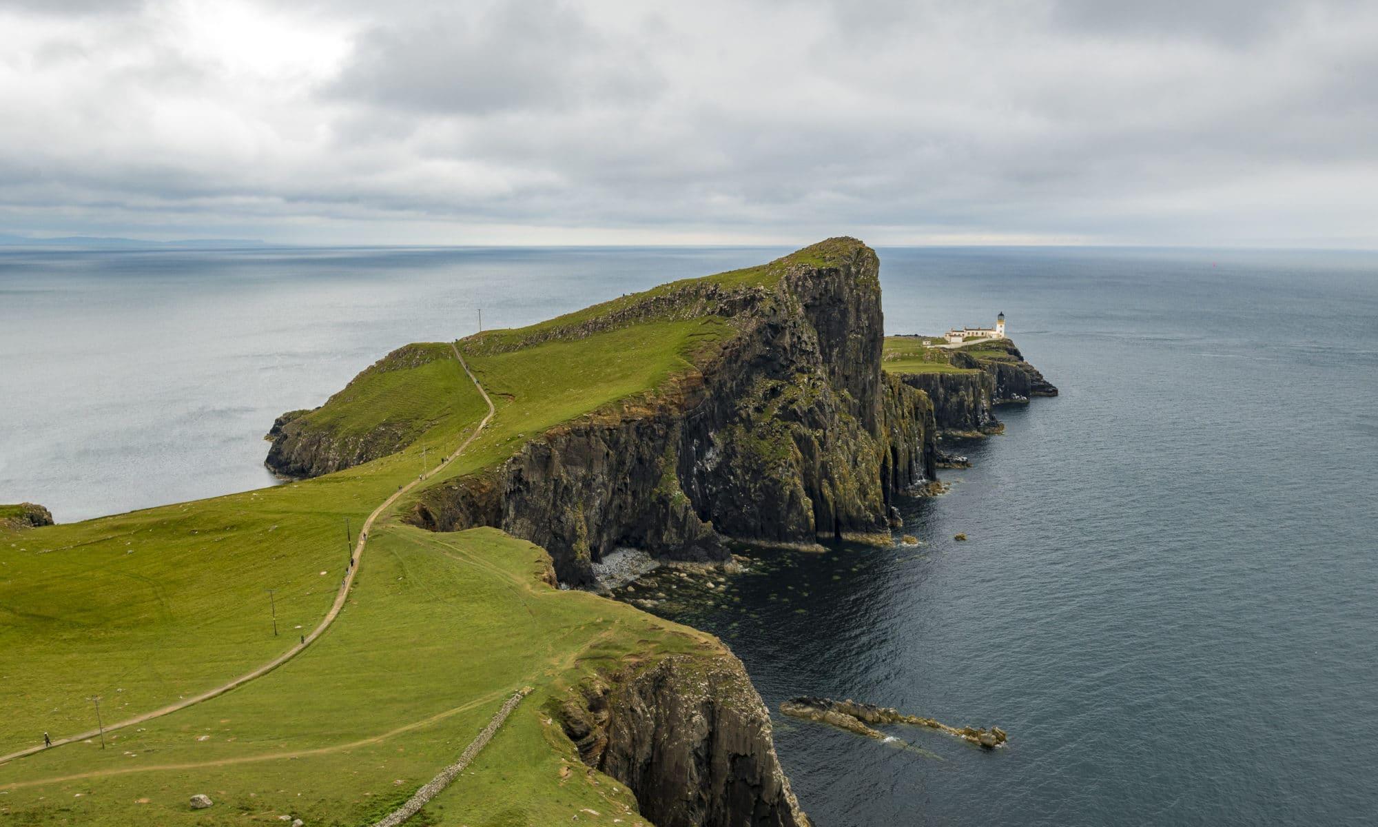 La phare du bout du monde Neistpoint Écosse