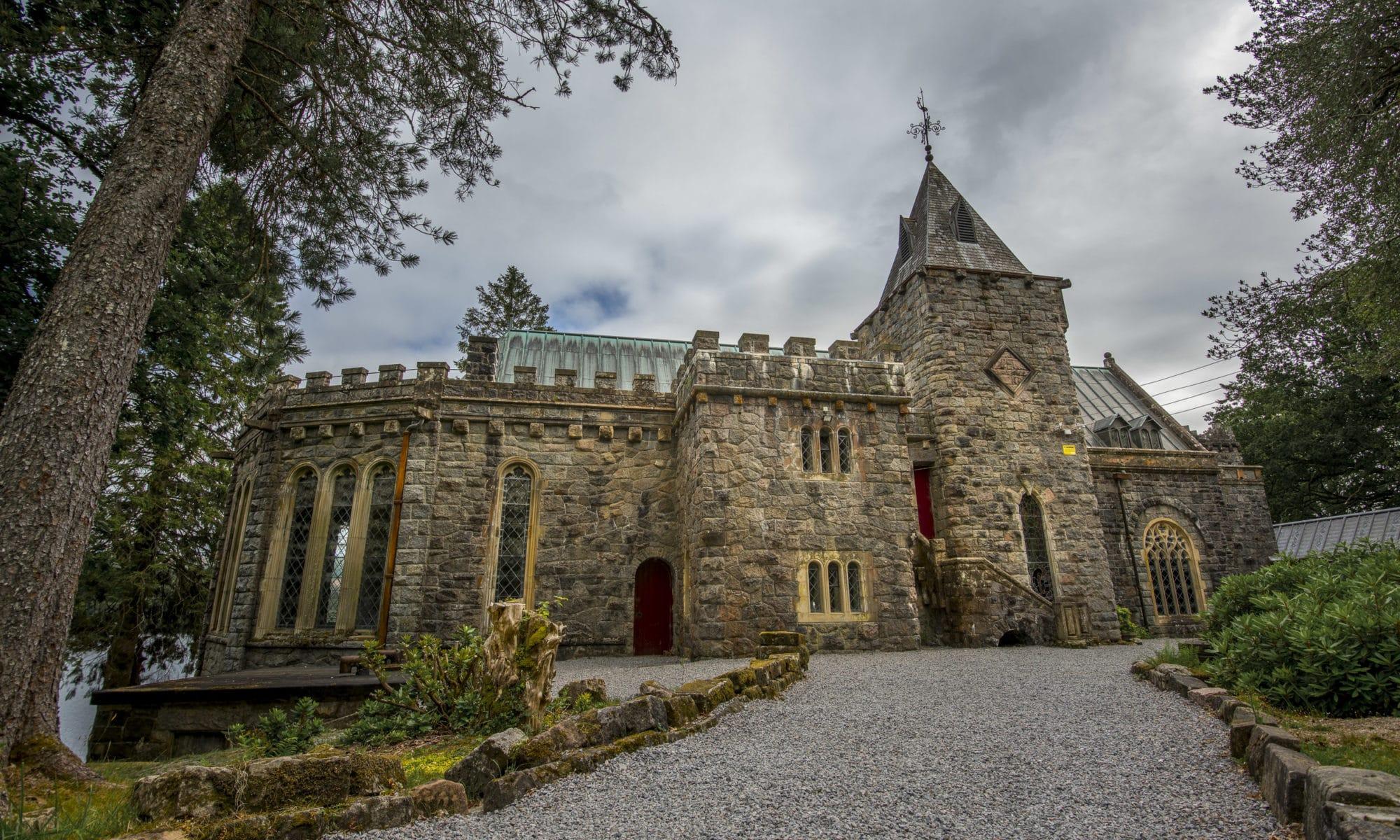 Église Saint Conan en Écosse