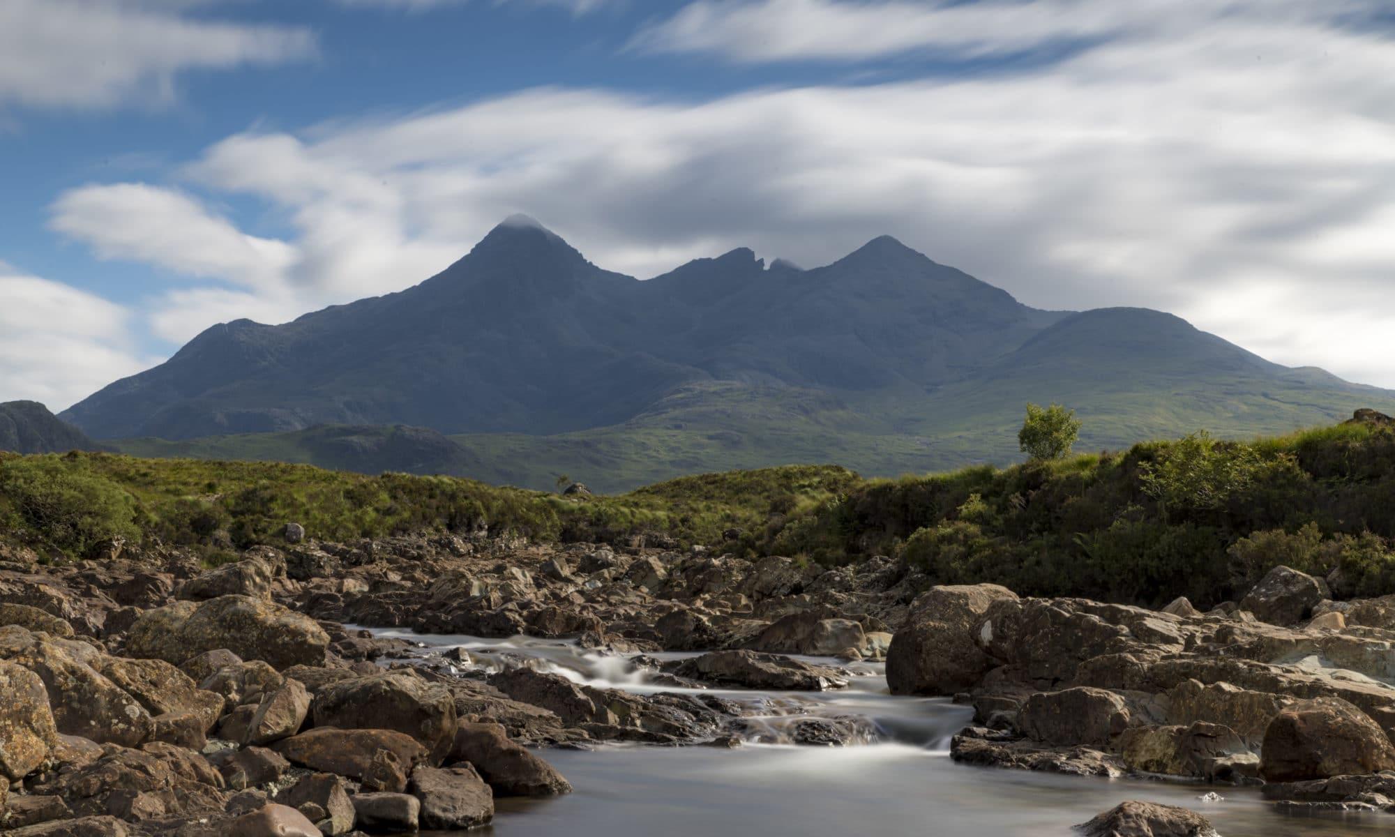 rivière sligachan île de Skye