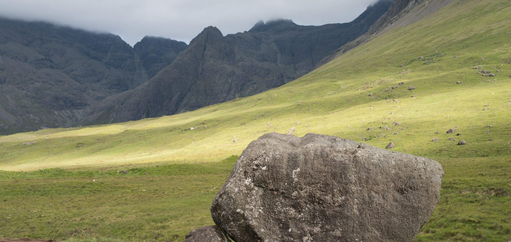 Le massif de Black Cuillin