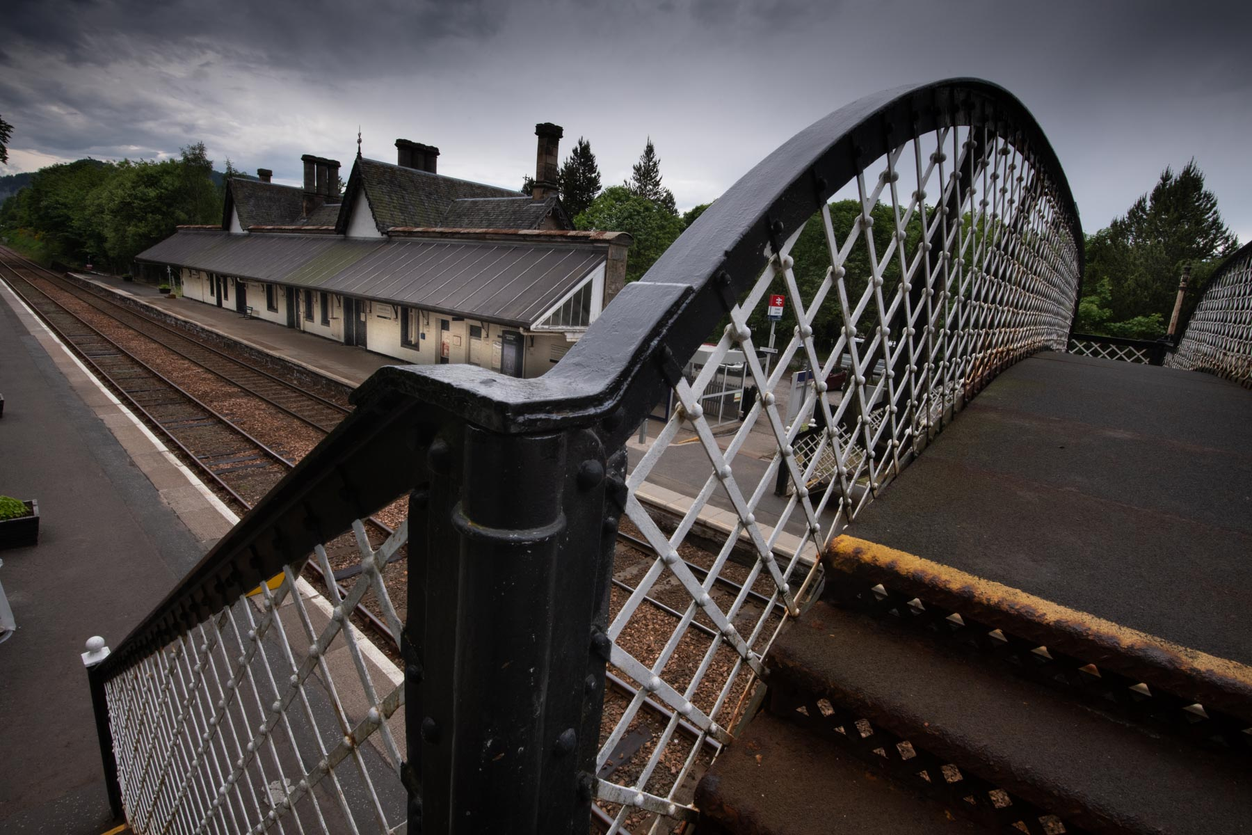 Gare voyage Écosse Dunkheld
