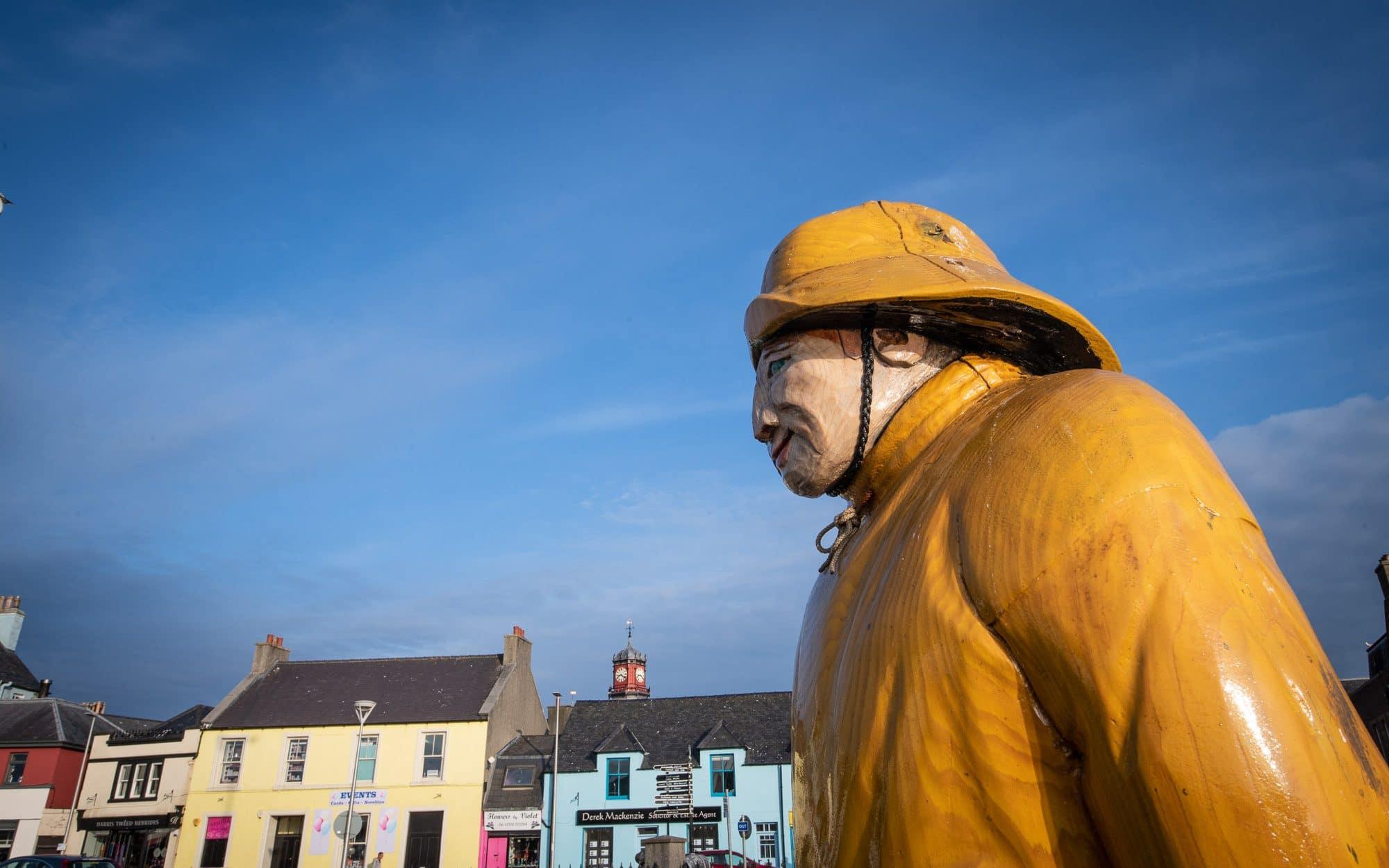 Le pêcheur de Stornoway Écosse