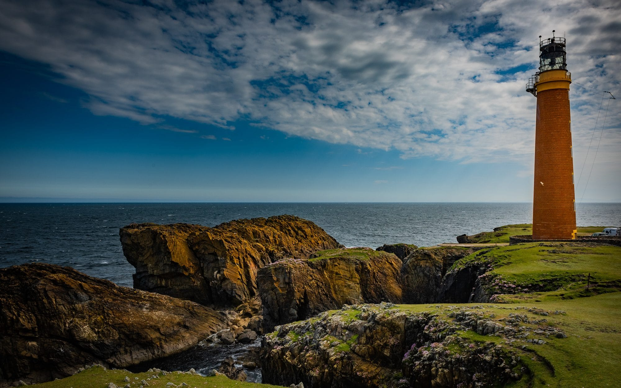 Le phare de Butt de l'île de Lewis