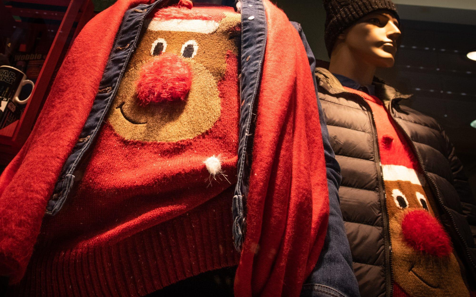 La folie du pull de Noël en Écosse