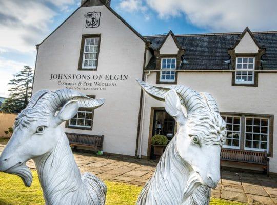 Dans les ateliers de Johnstons of Elgin