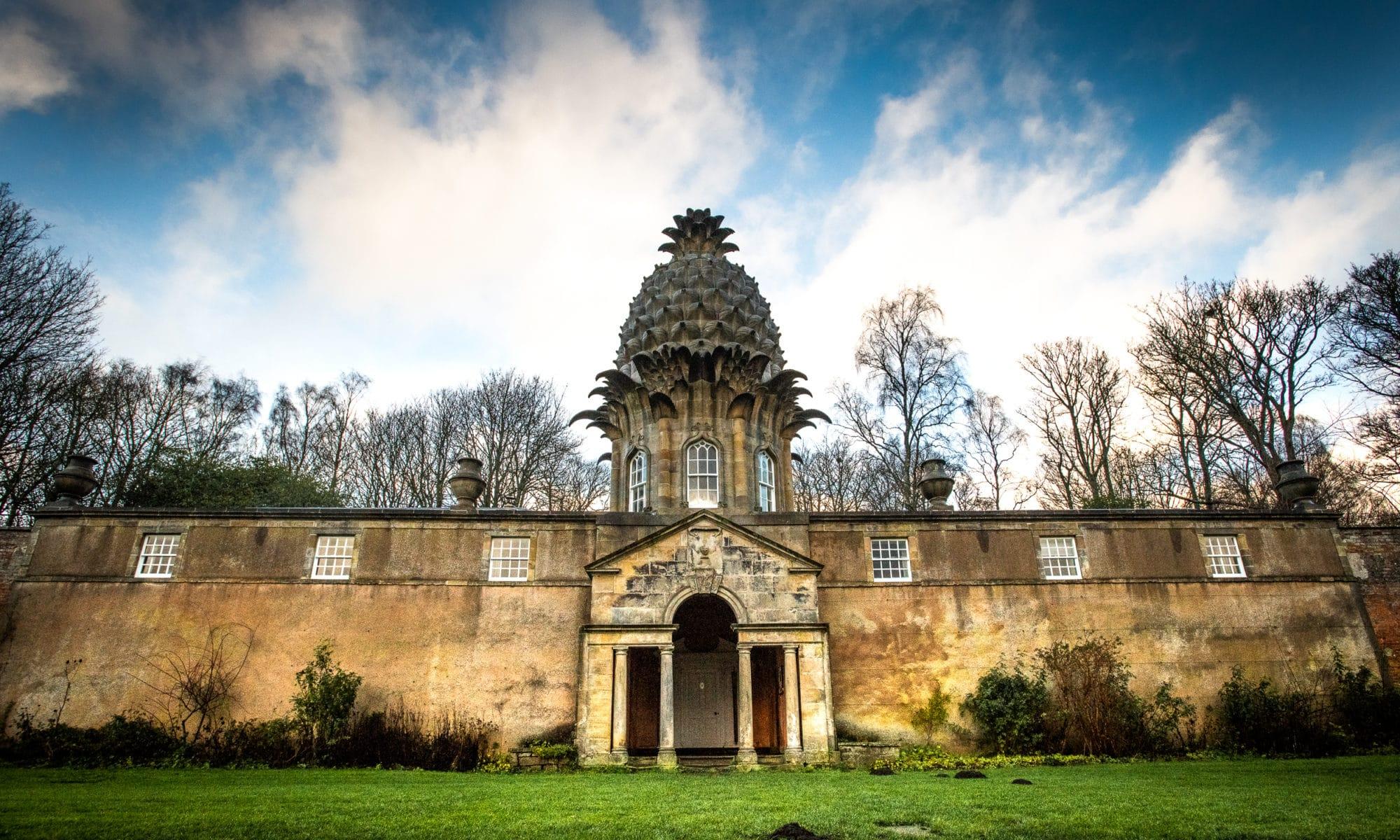 La folie de l'ananas en Écosse