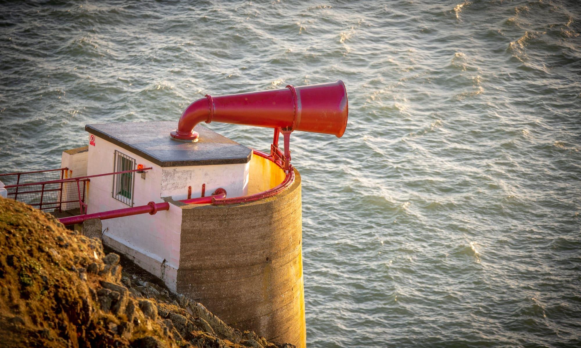 Le seul phare équipé d'une corne de brume en état de marche en Écosse