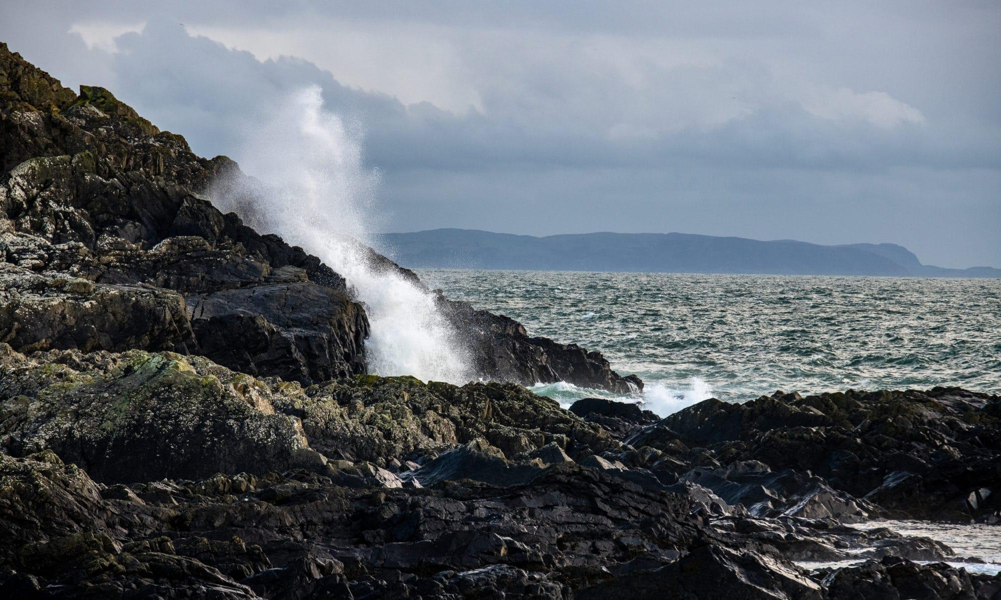 Les rochers de Portpatrick
