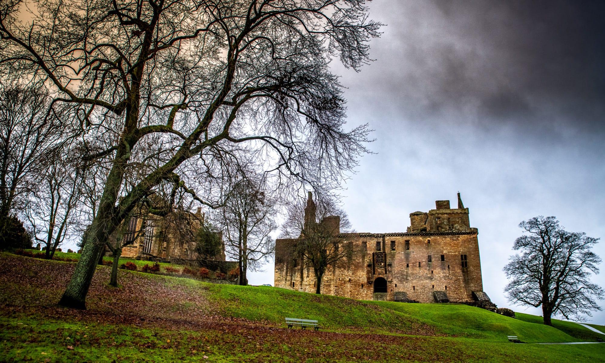 Linlithgow un vrai palais royal en Écosse