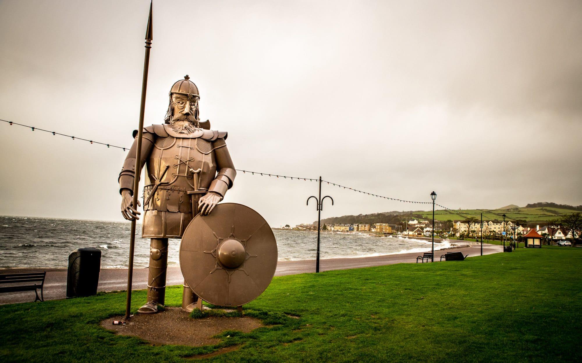 Largs et les traces des vikings