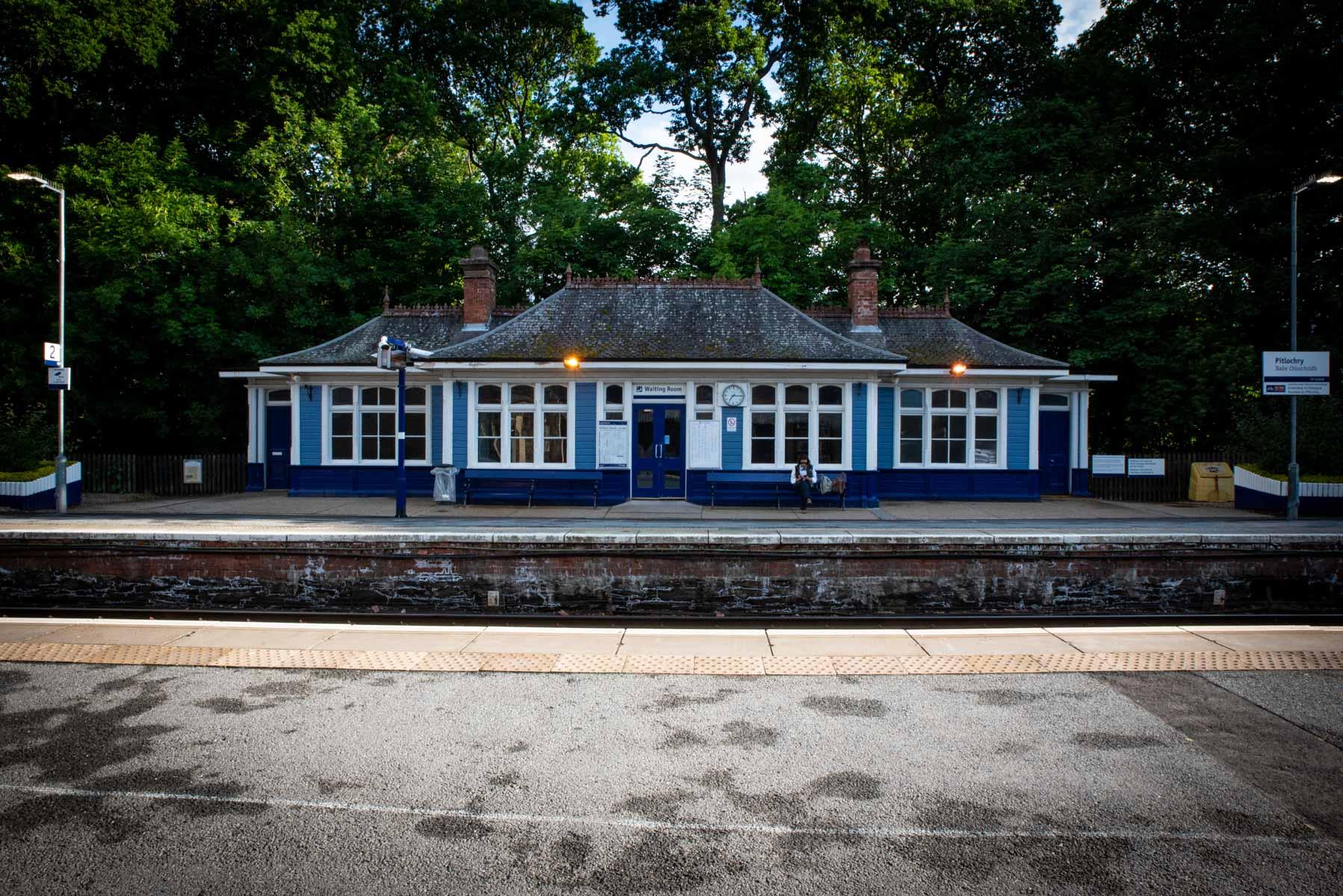 Écosse la gare de Pitlochry