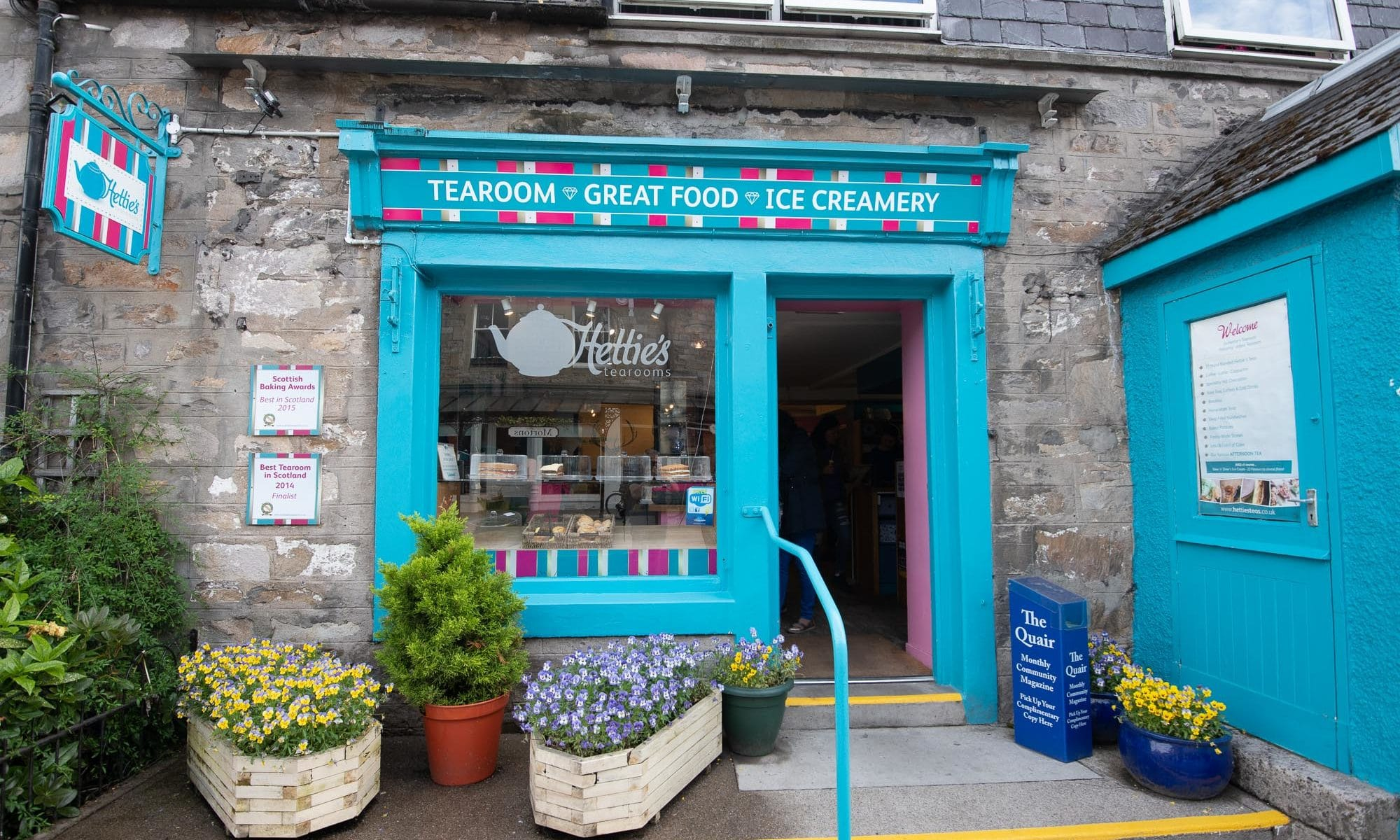Hettie's Tearoms l'Afternoon Tea en Écosse