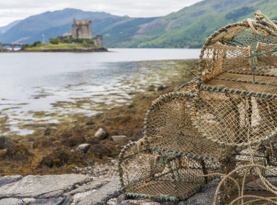 Les pêcheurs d'Eilean Donan Castle