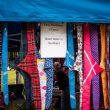 Un souvenir d'Écosse ? Un bandana pour chien !