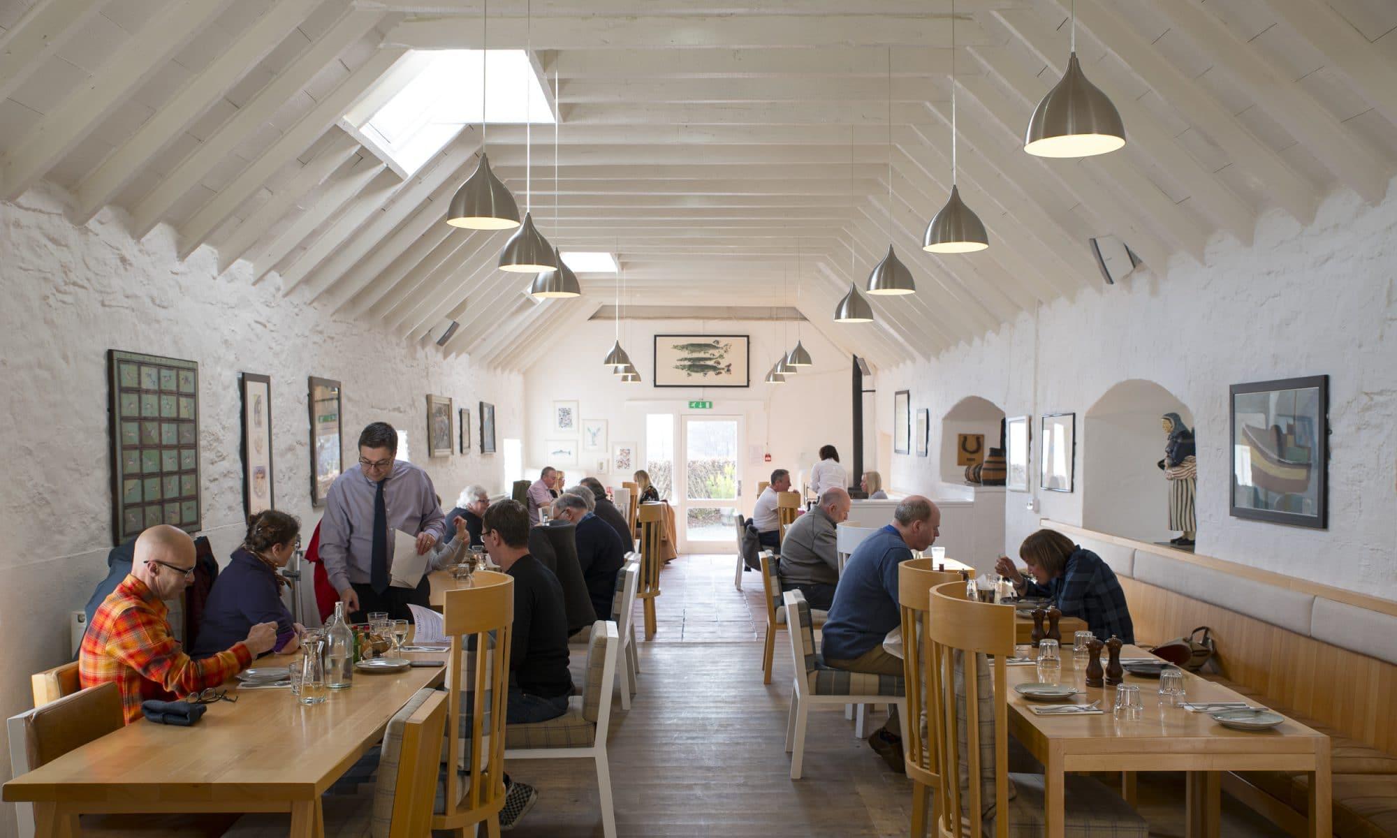 Une pause au bar à huîtres du Loch Fyne