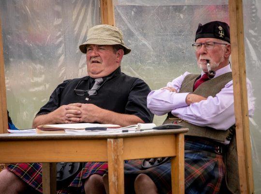 Highland Games, sous l'œil expert des arbitres
