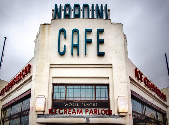 Nardini, des glaces toute l'année !