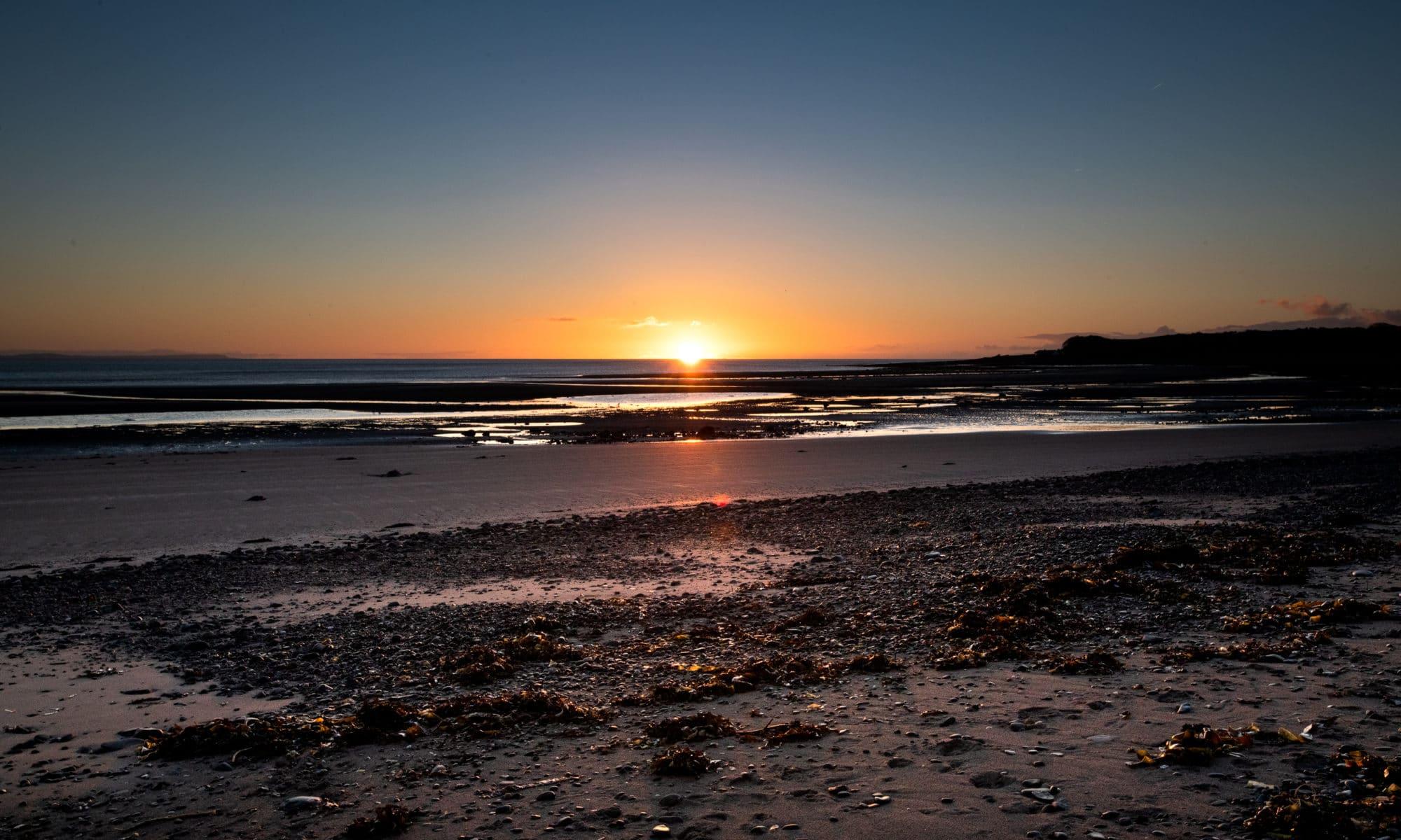 Les levers de soleil de la baie de Sandhead