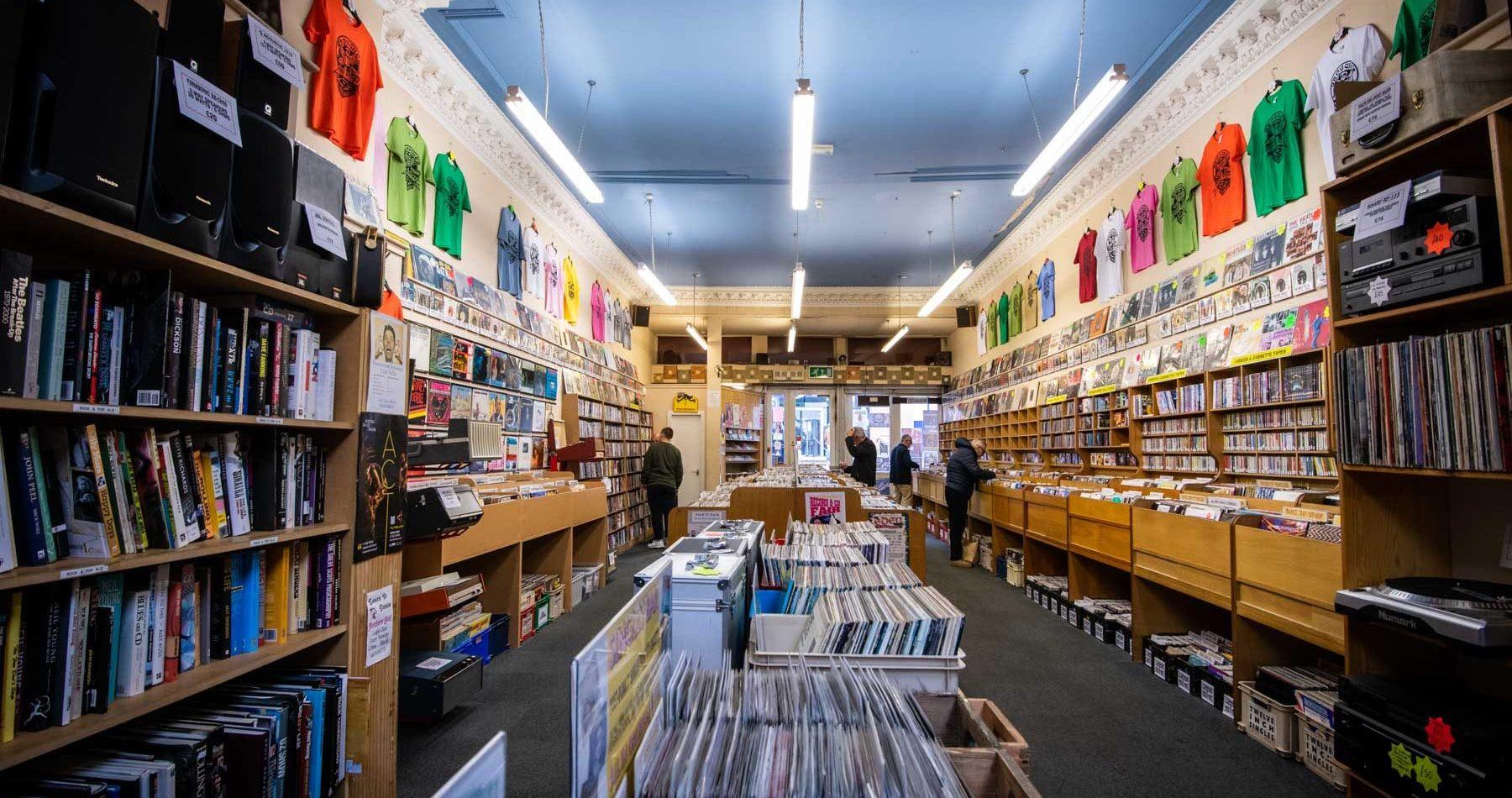 Groucho's à Dundee, plus qu'un magasin de disques