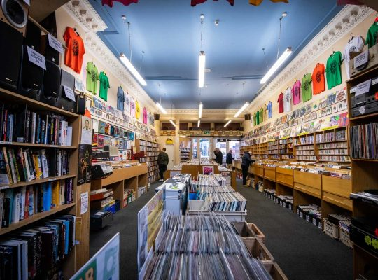 Groucho's à Dundee, plus qu'un magasin de disques !