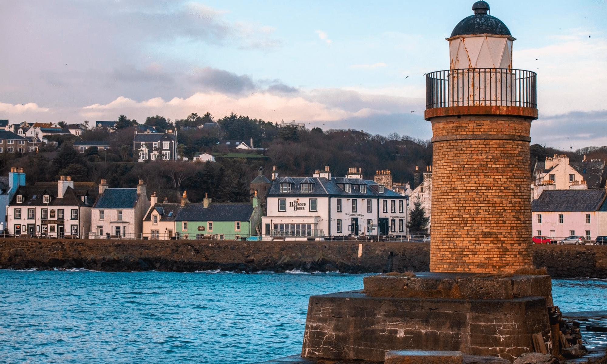 Sur le quai de Portpatrick