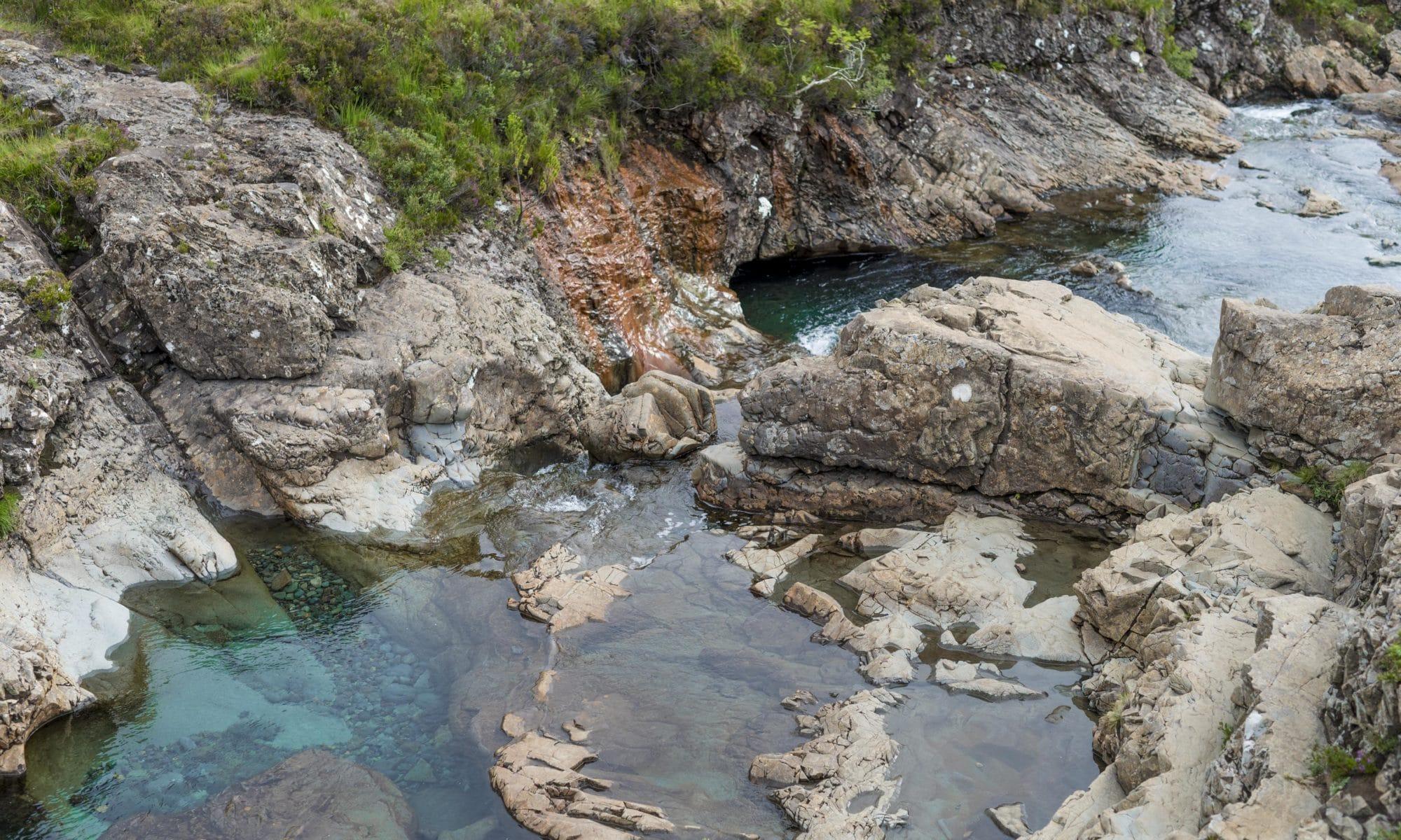 Un plongeon dans les Fairy pools