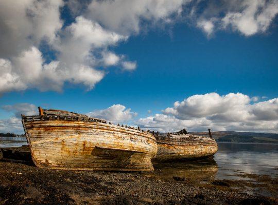 Salen Bay, au cœur de l'île de Mull