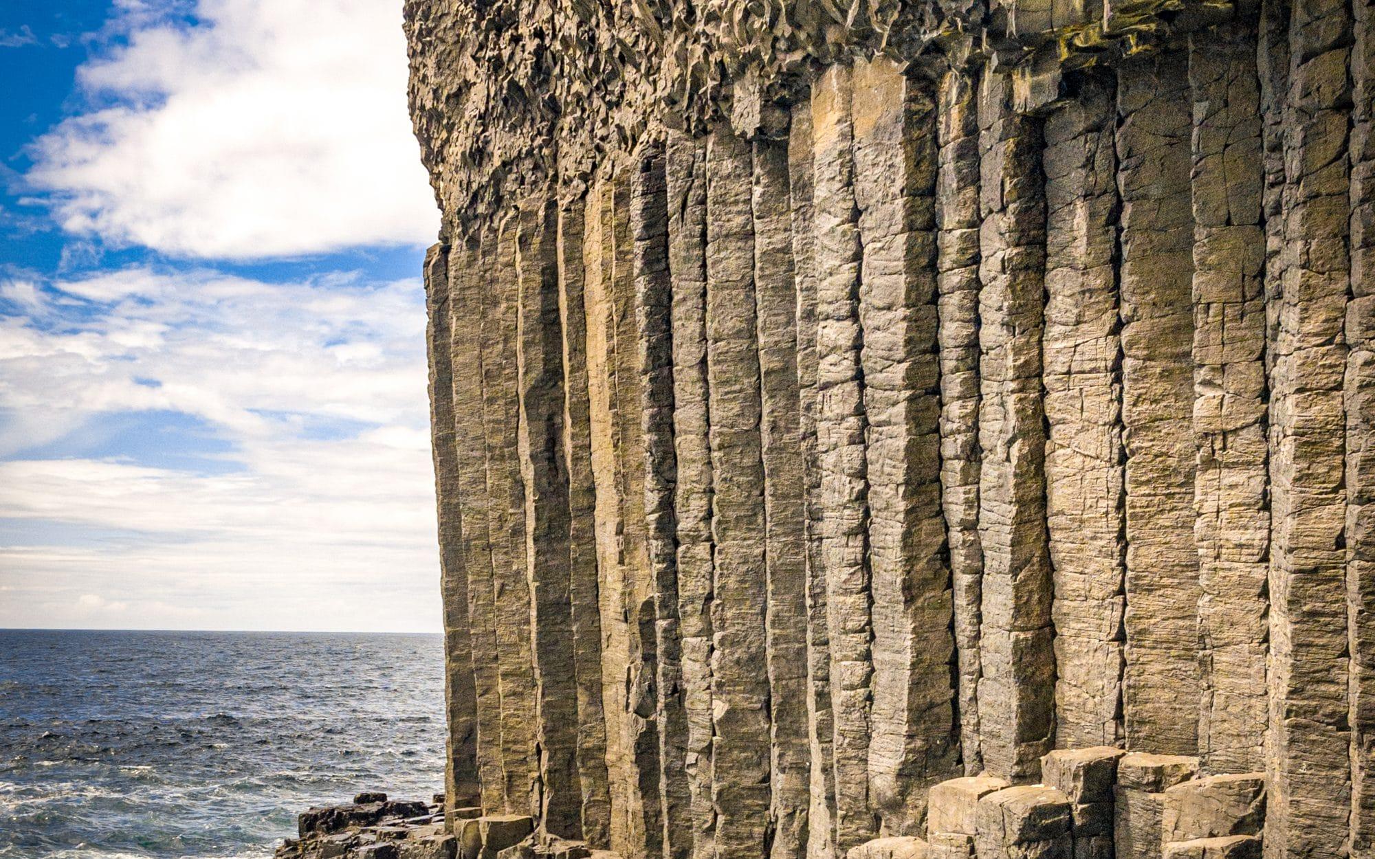 Staffa Island, une autre planète