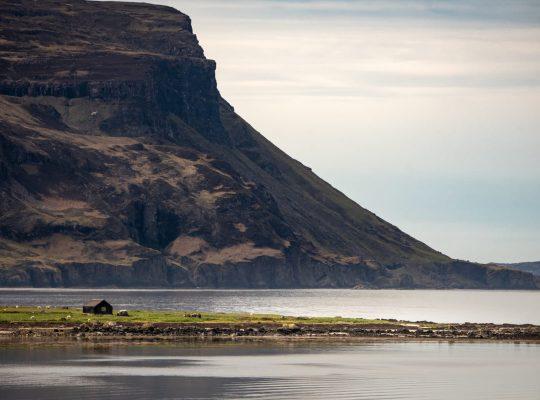 Les falaises de la péninsule d'Ardmeanach