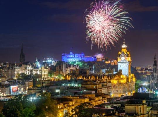 Fêtez le Hogmanay et le Nouvel An à Édimbourg!