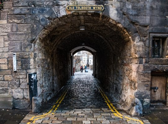 Se perdre dans Edimbourg
