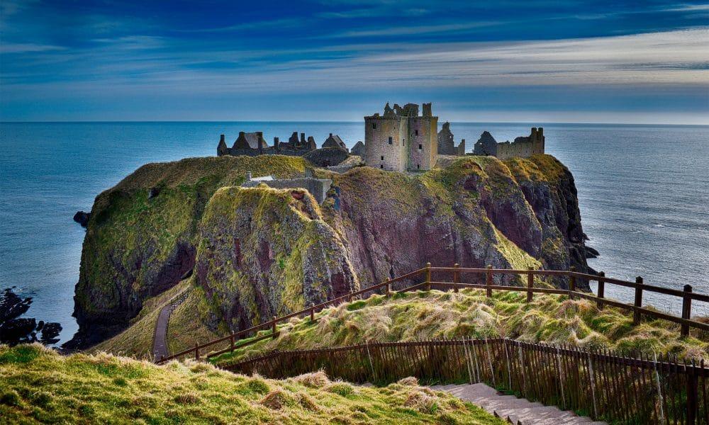 Dans les méandres de Dunnottar Castle